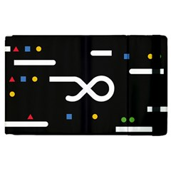 Line Circle Triangle Polka Sign Apple Ipad 3/4 Flip Case by Mariart