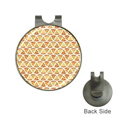 Food Pizza Bread Pasta Triangle Hat Clips With Golf Markers by Mariart