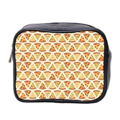 Food Pizza Bread Pasta Triangle Mini Toiletries Bag 2 Side by Mariart