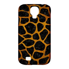 Skin1 Black Marble & Yellow Grunge Samsung Galaxy S4 Classic Hardshell Case (pc+silicone) by trendistuff