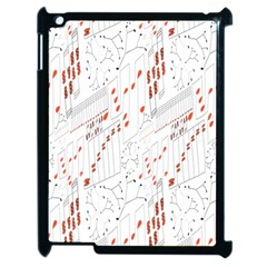 Musical Scales Note Apple Ipad 2 Case (black) by Mariart
