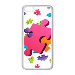 Passel Picture Green Pink Blue Sexy Game Apple Iphone 5c Seamless Case (white) by Mariart