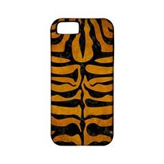 Skin2 Black Marble & Yellow Grunge Apple Iphone 5 Classic Hardshell Case (pc+silicone)