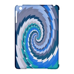 Psycho Hole Chevron Wave Seamless Apple Ipad Mini Hardshell Case (compatible With Smart Cover) by Mariart