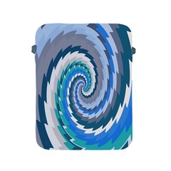 Psycho Hole Chevron Wave Seamless Apple Ipad 2/3/4 Protective Soft Cases by Mariart