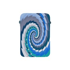 Psycho Hole Chevron Wave Seamless Apple Ipad Mini Protective Soft Cases by Mariart