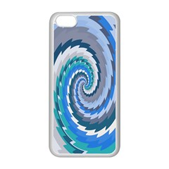 Psycho Hole Chevron Wave Seamless Apple Iphone 5c Seamless Case (white) by Mariart
