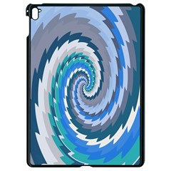 Psycho Hole Chevron Wave Seamless Apple Ipad Pro 9 7   Black Seamless Case by Mariart