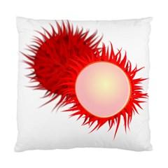 Rambutan Fruit Red Sweet Standard Cushion Case (one Side) by Mariart