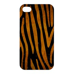 Skin4 Black Marble & Yellow Grunge Apple Iphone 4/4s Premium Hardshell Case by trendistuff