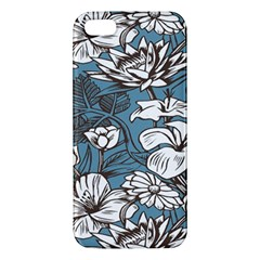 Star Flower Grey Blue Beauty Sexy Iphone 5s/ Se Premium Hardshell Case
