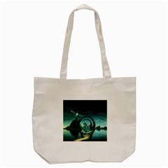 Cute Fairy Dancing On The Moon Tote Bag (cream) by FantasyWorld7