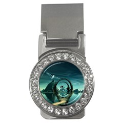 Cute Fairy Dancing On The Moon Money Clips (cz)  by FantasyWorld7
