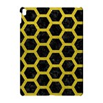 HEXAGON2 BLACK MARBLE & YELLOW LEATHER (R) Apple iPad Pro 10.5   Hardshell Case