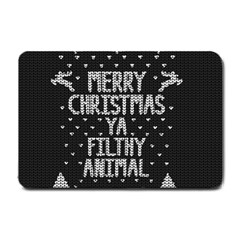 Ugly Christmas Sweater Small Doormat  by Valentinaart
