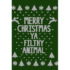 Ugly Christmas Sweater 5 5  X 8 5  Notebooks by Valentinaart