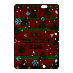 Ugly Christmas Sweater Kindle Fire Hdx 8 9  Hardshell Case by Valentinaart