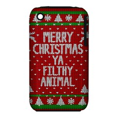 Ugly Christmas Sweater Iphone 3s/3gs by Valentinaart