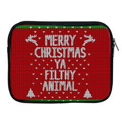 Ugly Christmas Sweater Apple Ipad 2/3/4 Zipper Cases