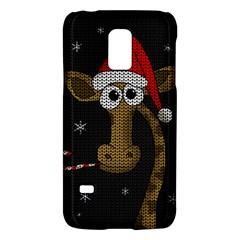 Christmas Giraffe  Galaxy S5 Mini by Valentinaart