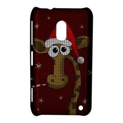 Christmas Giraffe  Nokia Lumia 620 by Valentinaart