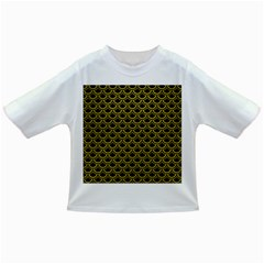 Scales2 Black Marble & Yellow Leather (r) Infant/toddler T Shirts