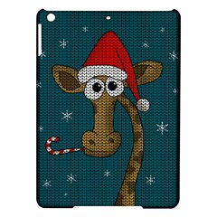 Christmas Giraffe  Ipad Air Hardshell Cases by Valentinaart