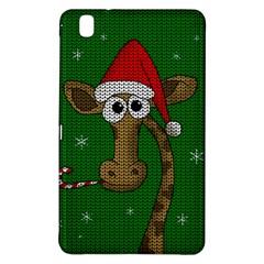 Christmas Giraffe  Samsung Galaxy Tab Pro 8 4 Hardshell Case by Valentinaart