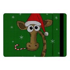 Christmas Giraffe  Apple Ipad Pro 10 5   Flip Case by Valentinaart