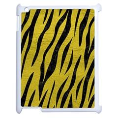 Skin3 Black Marble & Yellow Leather Apple Ipad 2 Case (white)