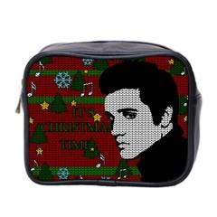 Elvis Presley   Christmas Mini Toiletries Bag 2 Side by Valentinaart
