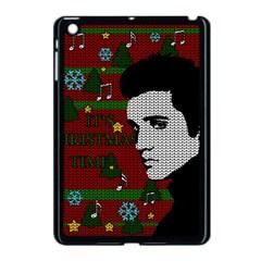 Elvis Presley   Christmas Apple Ipad Mini Case (black) by Valentinaart