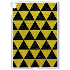 Triangle3 Black Marble & Yellow Leather Apple Ipad Pro 9 7   White Seamless Case by trendistuff