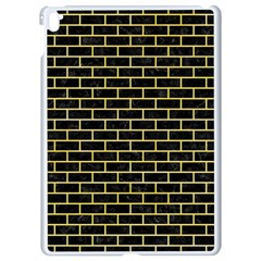 Brick1 Black Marble & Yellow Watercolor (r) Apple Ipad Pro 9 7   White Seamless Case by trendistuff