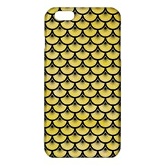 Scales3 Black Marble & Yellow Watercolor Iphone 6 Plus/6s Plus Tpu Case by trendistuff