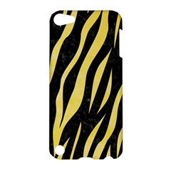 Skin3 Black Marble & Yellow Watercolor (r) Apple Ipod Touch 5 Hardshell Case by trendistuff