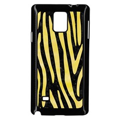 Skin4 Black Marble & Yellow Watercolor Samsung Galaxy Note 4 Case (black)