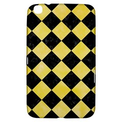 Square2 Black Marble & Yellow Watercolor Samsung Galaxy Tab 3 (8 ) T3100 Hardshell Case