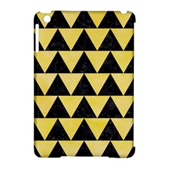 Triangle2 Black Marble & Yellow Watercolor Apple Ipad Mini Hardshell Case (compatible With Smart Cover) by trendistuff