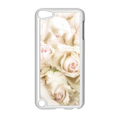 Pastel Roses Antique Vintage Apple Ipod Touch 5 Case (white)