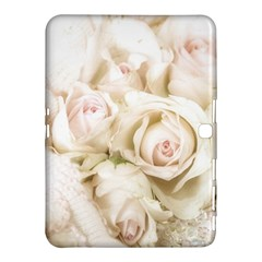 Pastel Roses Antique Vintage Samsung Galaxy Tab 4 (10 1 ) Hardshell Case  by Celenk