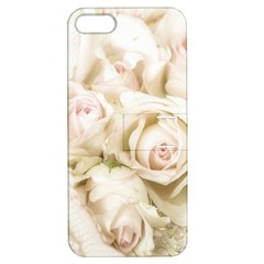 Pastel Roses Antique Vintage Apple Iphone 5 Hardshell Case With Stand by Celenk