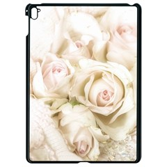 Pastel Roses Antique Vintage Apple Ipad Pro 9 7   Black Seamless Case by Celenk