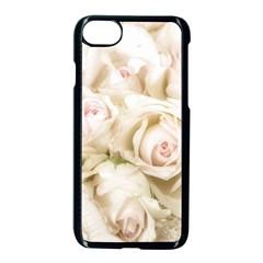 Pastel Roses Antique Vintage Apple Iphone 8 Seamless Case (black) by Celenk