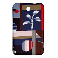Surface Tree Polka Dots Samsung Galaxy Tab 3 (7 ) P3200 Hardshell Case  by Mariart