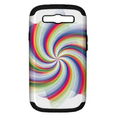 Prismatic Hole Rainbow Samsung Galaxy S Iii Hardshell Case (pc+silicone) by Mariart