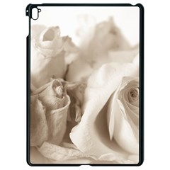 Vintage Rose Shabby Chic Background Apple Ipad Pro 9 7   Black Seamless Case by Celenk