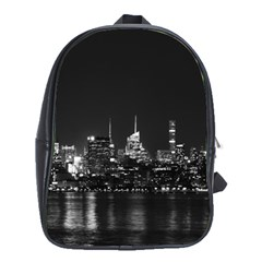New York Skyline School Bag (xl) by Celenk