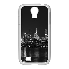 New York Skyline Samsung Galaxy S4 I9500/ I9505 Case (white) by Celenk