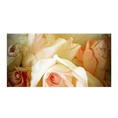 Roses Vintage Playful Romantic Satin Wrap by Celenk